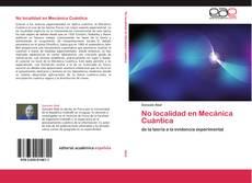 No localidad en Mecánica Cuántica kitap kapağı