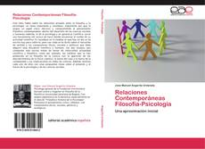 Portada del libro de Relaciones Contemporáneas   Filosofía-Psicología