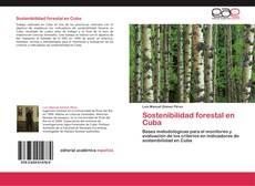 Buchcover von Sostenibilidad forestal en Cuba