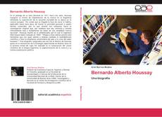 Bookcover of Bernardo Alberto Houssay