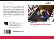 Portada del libro de Bernardo Alberto Houssay