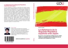 Portada del libro de La diplomacia de la Segunda República española ante Japón