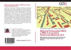 Portada del libro de Material Particulado PM10 y PM2.5 en la Zona Urbana de Mexicali, B.C.