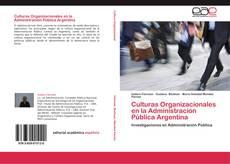 Capa do livro de Culturas Organizacionales en la Administración Pública Argentina