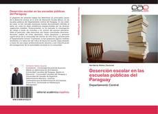 Portada del libro de Deserción escolar en las escuelas públicas del  Paraguay
