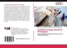 Capa do livro de La Biotecnología desde la Pedagogía