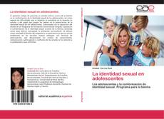 Portada del libro de La identidad sexual en adolescentes
