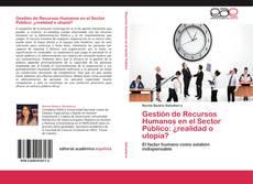 Bookcover of Gestión de Recursos Humanos en el Sector Público: ¿realidad o utopía?