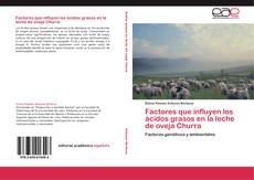 Couverture de Factores que influyen los ácidos grasos en la leche de oveja Churra