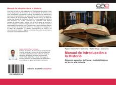 Bookcover of Manual de Introducción a la Historia