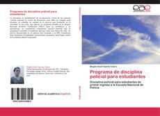 Buchcover von Programa de disciplina policial para estudiantes