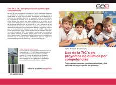 Portada del libro de Uso de la TIC´s en proyectos de química por competencias