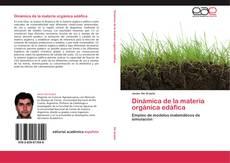 Обложка Dinámica de la materia orgánica edáfica
