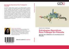 Capa do livro de Estrategias Operativas Para Trabajar En Filosofía