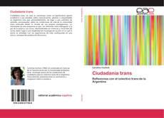 Buchcover von Ciudadanía trans