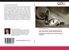 Portada del libro de La novela macedoniana