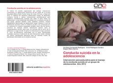 Conducta suicida en la adolescencia kitap kapağı