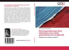 Bookcover of Correspondencias Arte-Literatura:una visión panorámica en el siglo XX