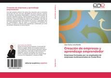 Copertina di Creación de empresas y aprendizaje emprendedor
