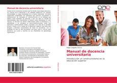 Capa do livro de Manual de docencia universitaria