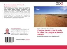 Обложка Evaluación económica de la labor de preparación de suelos