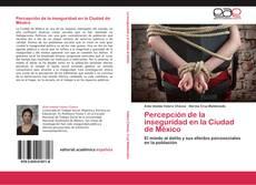 Bookcover of Percepción de la inseguridad en la Ciudad de México