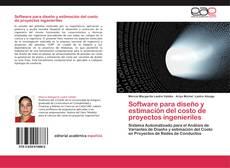 Copertina di Software para diseño y estimación del costo de proyectos ingenieriles