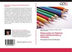 Capa do livro de Educación en Valores para adolescentes y niños/as