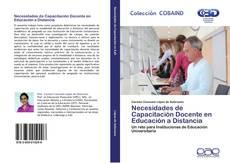 Bookcover of Necesidades de Capacitación Docente en Educación a Distancia