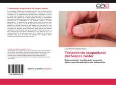 Portada del libro de Tratamiento acupuntural del herpes zoster