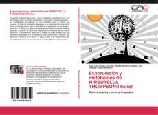 Esporulación y metabolitos de HIRSUTELLA THOMPSONII fisher的封面