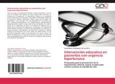Bookcover of Intervención educativa en pacientes con urgencia hipertensiva