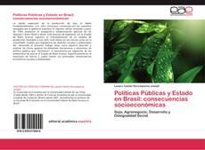 Capa do livro de Políticas Públicas y Estado en Brasil: consecuencias socioeconómicas
