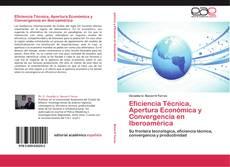 Portada del libro de Eficiencia Técnica, Apertura Económica y Convergencia en Iberoamérica
