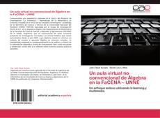 Buchcover von Un aula virtual no convencional de Álgebra en la FaCENA – UNNE