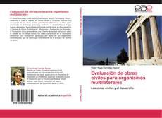 Capa do livro de Evaluación de obras civiles para organismos multilaterales