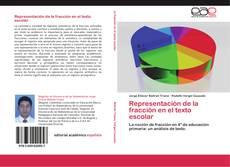 Capa do livro de Representación de la fracción en el texto escolar