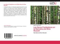 Buchcover von Los Seres Fantásticos en la Narrativa de Dino Buzzati