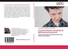 Portada del libro de La prevención social de la delincuencia juvenil