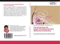Bookcover of Las personas sin hogar.Realidad Social y Recursos existentes.