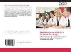 Nivel de conocimiento y factores de riesgo kitap kapağı