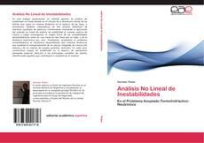Portada del libro de Análisis No Lineal de Inestabilidades