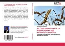 Capa do livro de La Cascarilla de arroz, un residuo con un alto potencial energético