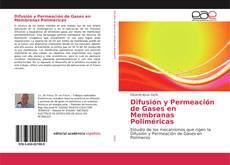 Capa do livro de Difusión y Permeación de Gases en Membranas Poliméricas