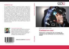 Bookcover of Calidad en uso