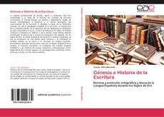 Buchcover von Génesis e Historia de la Escritura