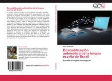 Обложка Descodificación automática de la lengua escrita de Brasil