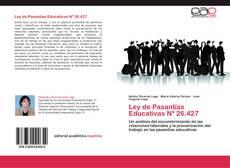 Capa do livro de Ley de Pasantías Educativas Nº 26.427