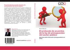 Обложка El protocolo de acuerdos de la ley de presupuestos del sector público