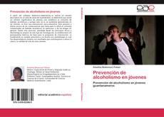Portada del libro de Prevención de alcoholismo en jóvenes
